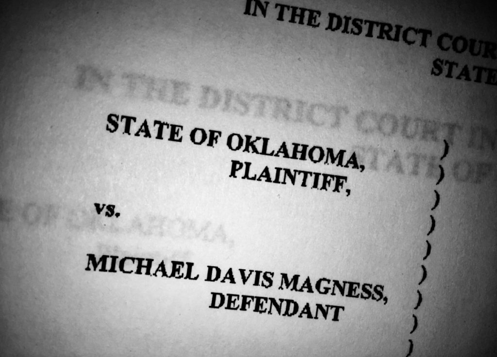 Okfuskee County District Judge Lawrence Parish told the Magness defense team at the end of the day Monday to get their witnesses on standby and get ready to present their case upon the completion of the prosecution's presentation of its theory. ADA Laura Farris said she expects the prosecution to rest its case sometime on Tuesday.  (JOSH ALLEN/News Leader)