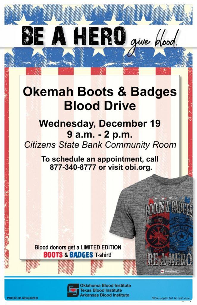 Okemah Boots N Badges