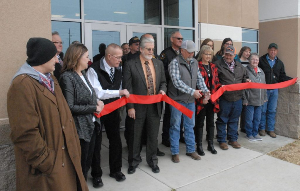 Okfuskee Jail Ribbon Cutting ceremony